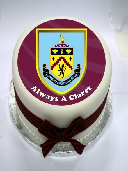 Burnley Edible Cake Topper